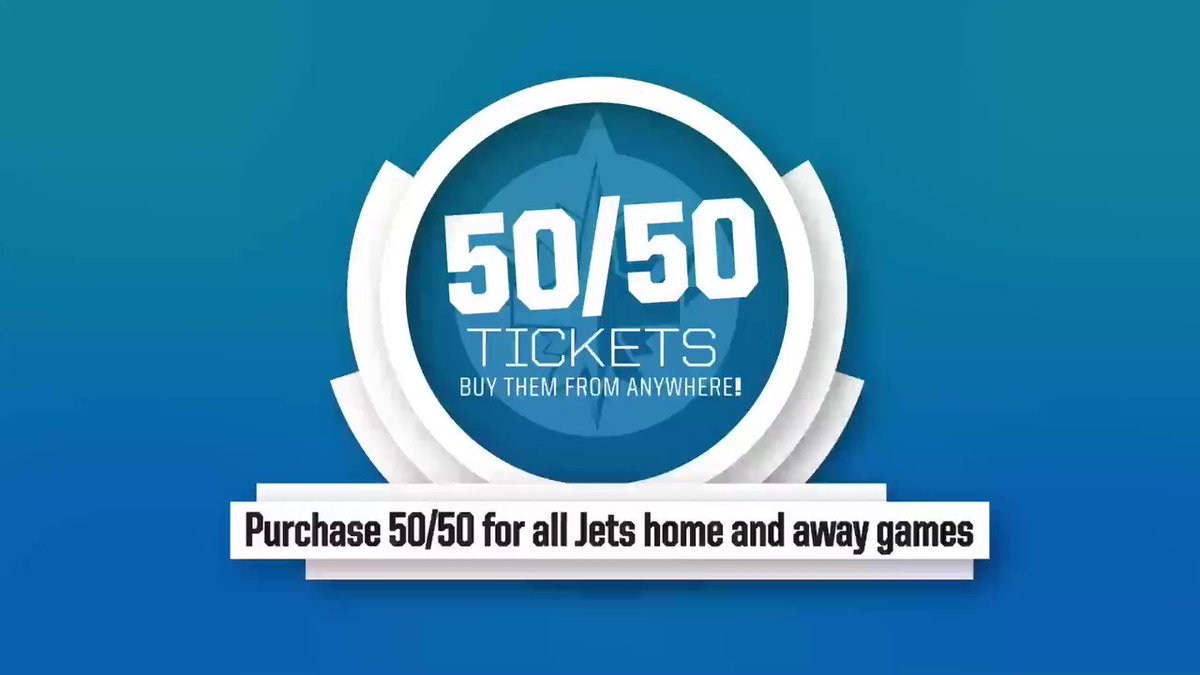 🎉 ITS SUNDAY FUNDAY 🎉 Stay connected during the @NHLJets game by purchasing your 50/50 ticket! TICKETS➡️ bit.ly/2ItXWhI #TNYF | #GoJetsGo