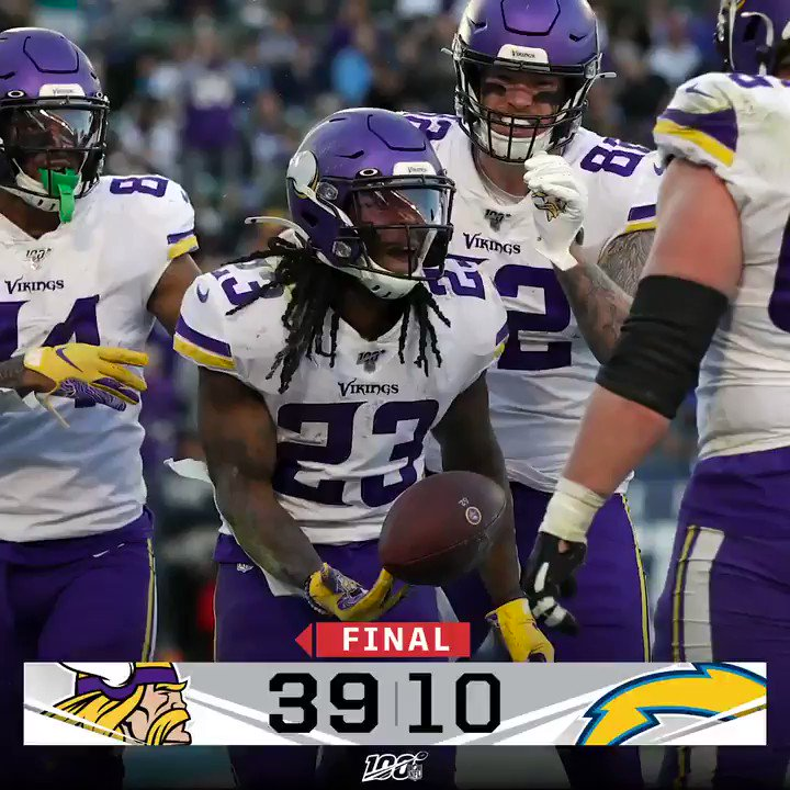 Took it to 'em.   #Skol https://t.co/1EQdBxQRgm