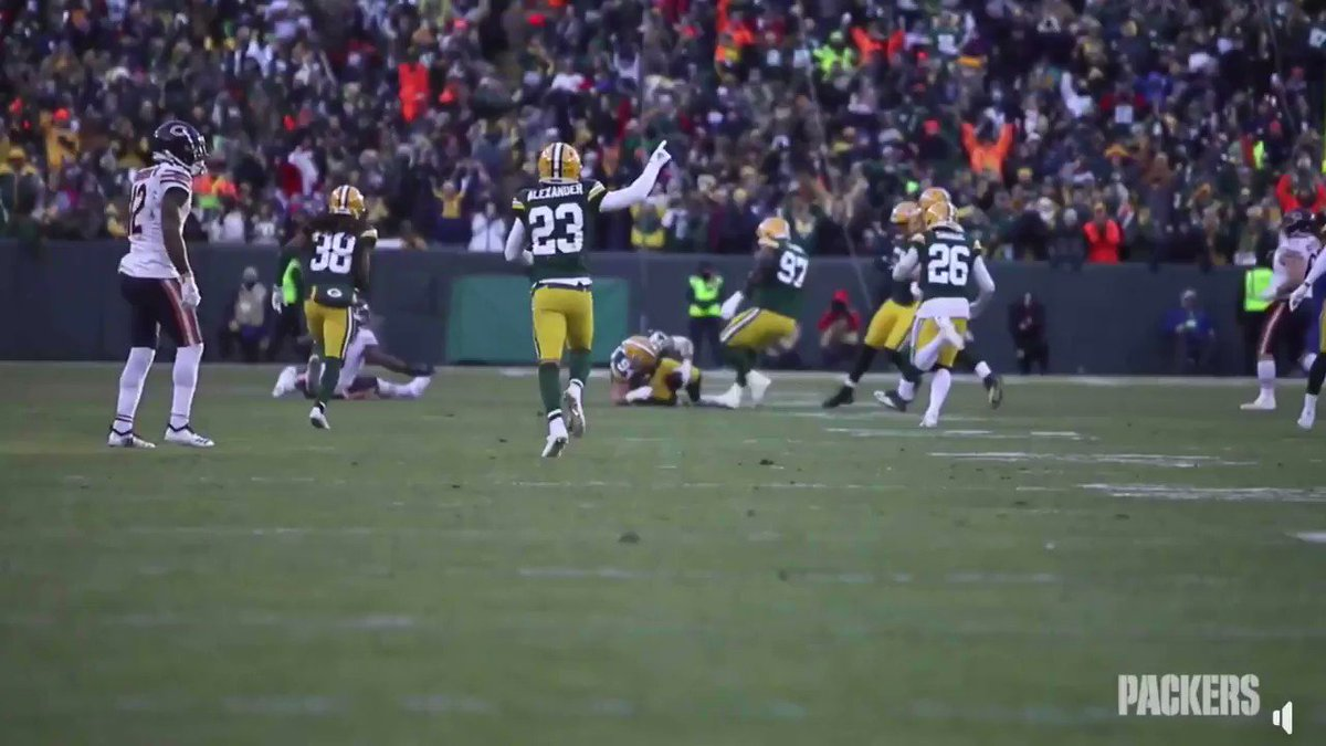 What a shot from the @packers digital team. 6 seconds of pure joy. Put it right into my veins...