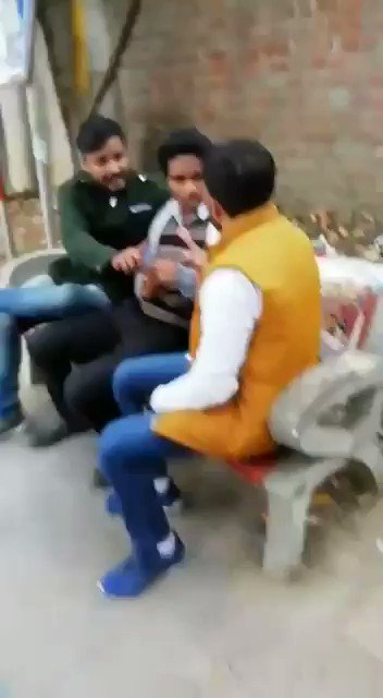 RT. In this video from #DelhiUniversity today, #ABVP activists heckling a student from Kerala at Chhatra Marg over his position on #CAA.They are also desperate to make a concise video to give a message loud & clear to dissenters. @delhipolice,some are more equal than the others?