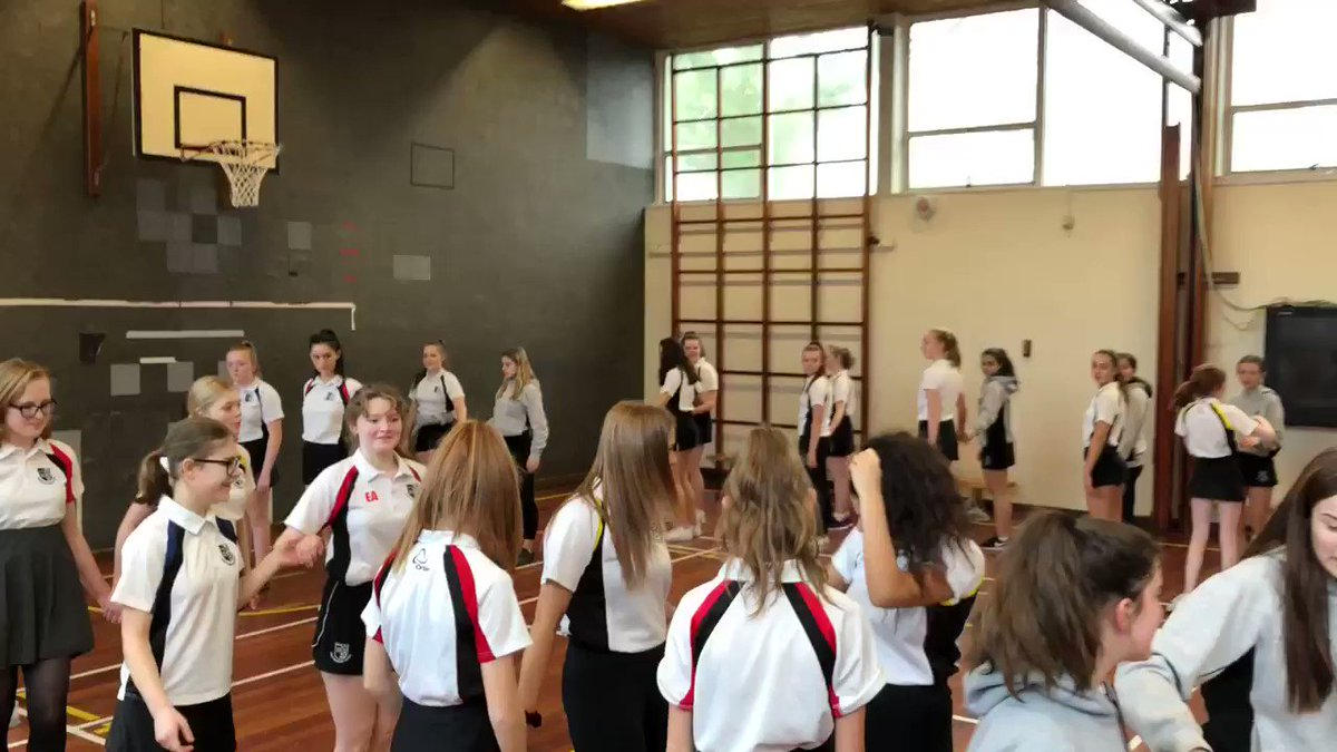 Y10 girls had tonnes of fun Christmas dancing this afternoon!
