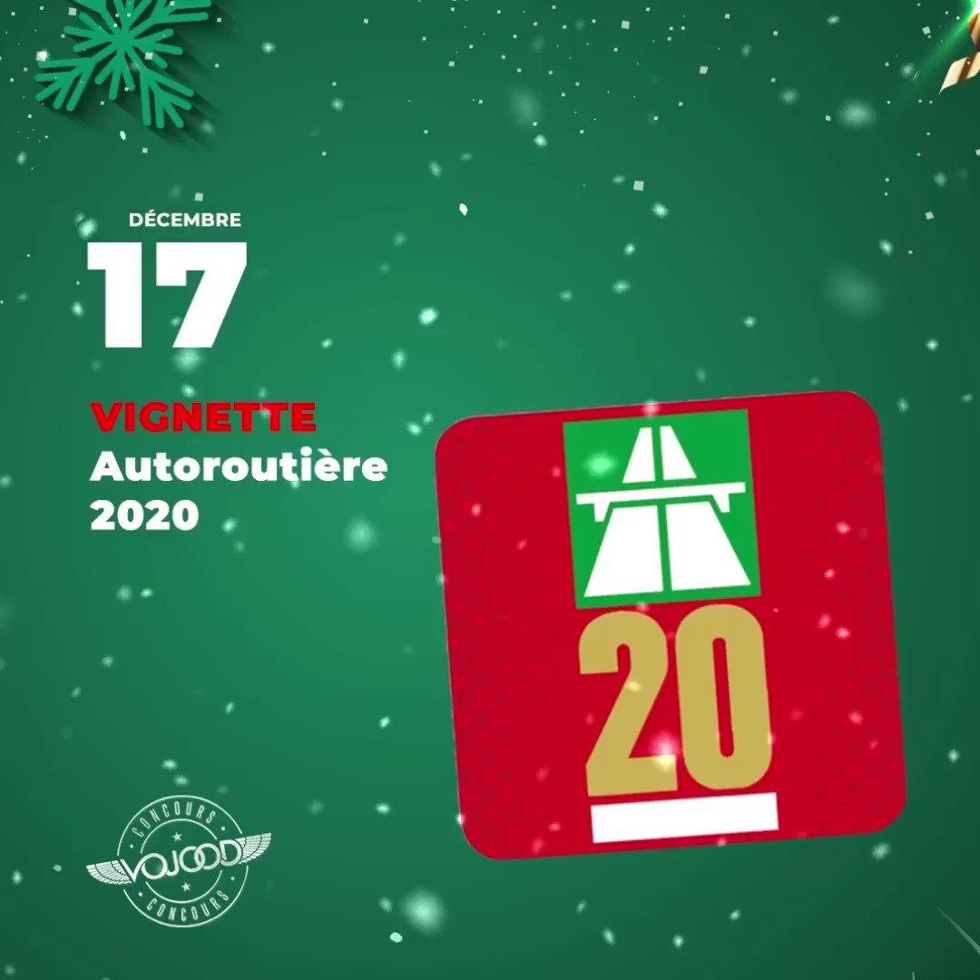 🎅🏼 17 Décembre 🎁 Participe et GAGNE ta vignette autoroutière 2020 🎉  Rendez-vous sur http://www.vojoodmedia.com  #calendrierdelavent #adventcalendar #raffle #concours #calendrierdelavent2019 #adventcalendar2019 #giveaway #lausanne #vaud #suisse #montreux #vignette #2020