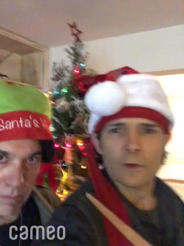 GRIBBIT GRIBBIT (Frog language) 4 MERRY CHRISTMAS FROM EDGAR & ALAN ! THE HOLIDAYS HAV COME EARLY CUZ @JamisonNewland #OGFROGBROS & I HAV A GIFT 4 #LOSTBOYS FANS, WE R DOIN 50 CAMEOS @ 50% OFF THE NORMAL PRICE RIGHT NOW, UNTIL FRI NIGHT, OR SAT 12:01AM. SO GO 2 @BookCameo NOW!pic.twitter.com/bTqA2xZvV5