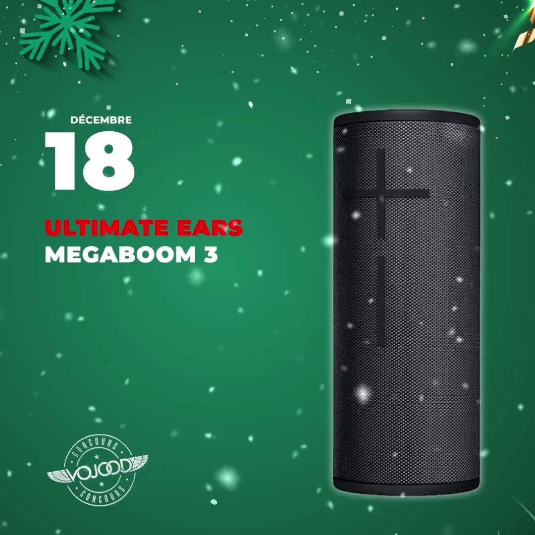 🎅🏼 18 Décembre 🎁 Participe et GAGNE ton enceinte @ultimateears MEGABOOM 3 🎉  Rendez-vous sur http://www.vojoodmedia.com  #calendrierdelavent #adventcalendar #raffle #concours #calendrierdelavent2019 #adventcalendar2019 #lausanne #UE #UltimateEars #megaboom #megaboom3
