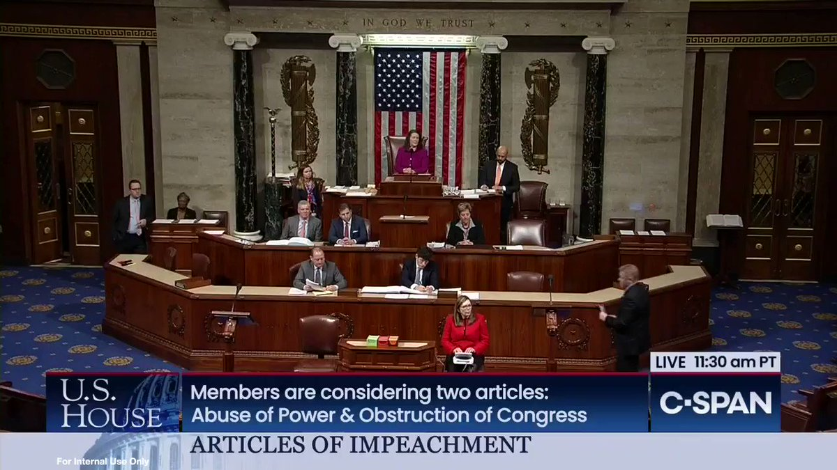 Today, I expressed my opposition to #impeachment on the House floor.