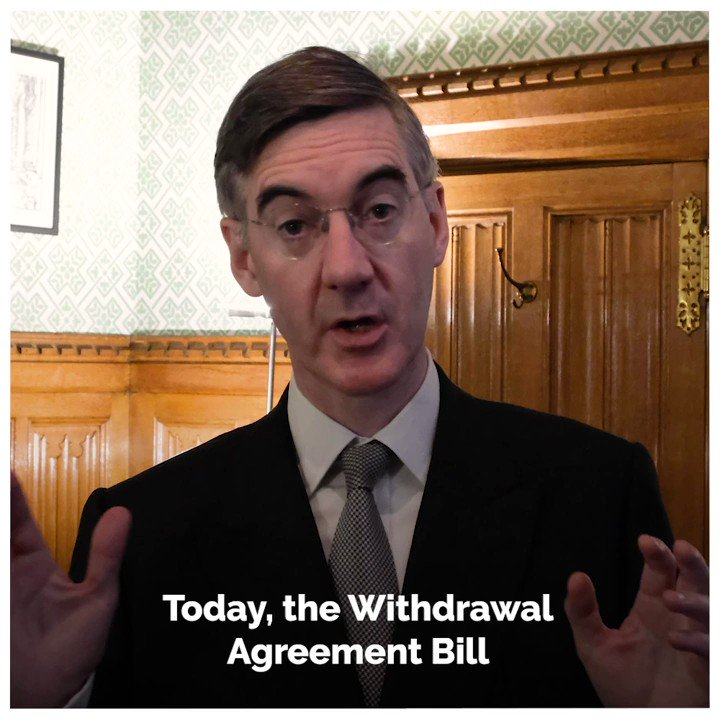 📺 Today, the Withdrawal Agreement Bill is being brought back to the Commons. This Peoples Government is moving within the first week of a new Parliament to get Brexit done and deliver on the priorities of the British people. #PeoplesGovernment @Jacob_Rees_Mogg | @DExEUgov