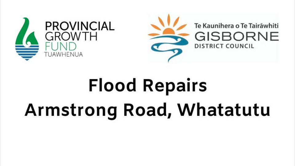 #PGF2019 @GDC_updates tells us around 120 people are working on #PGF-funded projects at any one time in the area. Many work in roading construction like this team on flood repairs, and in September we heard a few of their stories http://bit.ly/35xze8R Safer roads for #Gisborne pic.twitter.com/rZ8ORuNXGA