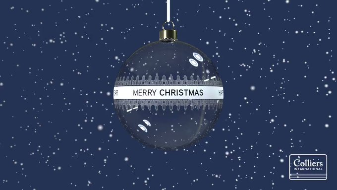 Das Colliers-Team wünscht Ihnen und Ihren Lieben frohe Weihnachten und einen guten Start in ein gesundes und erfolgreiches Jahr 2020! Wir freuen uns, auch im neuen Jahr wieder mit Ihnen durchzustarten und spannende Projekte umzusetzen! t.co/nktfS91mam
