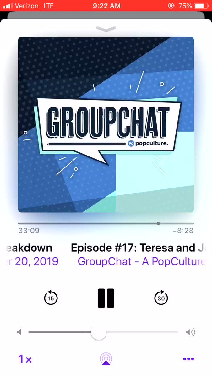 Last @PopCulture #GroupChat of 2019...and of @jabastidas before he leaves us 😭😭We're covering THAT #RHONJ breakup and #TheBachelor's insane bios — all while I lose my damn mind over #TheMaskedSinger season 3. https://podcasts.apple.com/us/podcast/groupchat-a-popculture-com-reality-tv-podcast/id1477636941#episodeGuid=074766ca-d56f-11e9-a11f-07f1a8897cd7 …