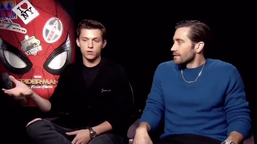 Note to self: Don't scare Tom Holland.