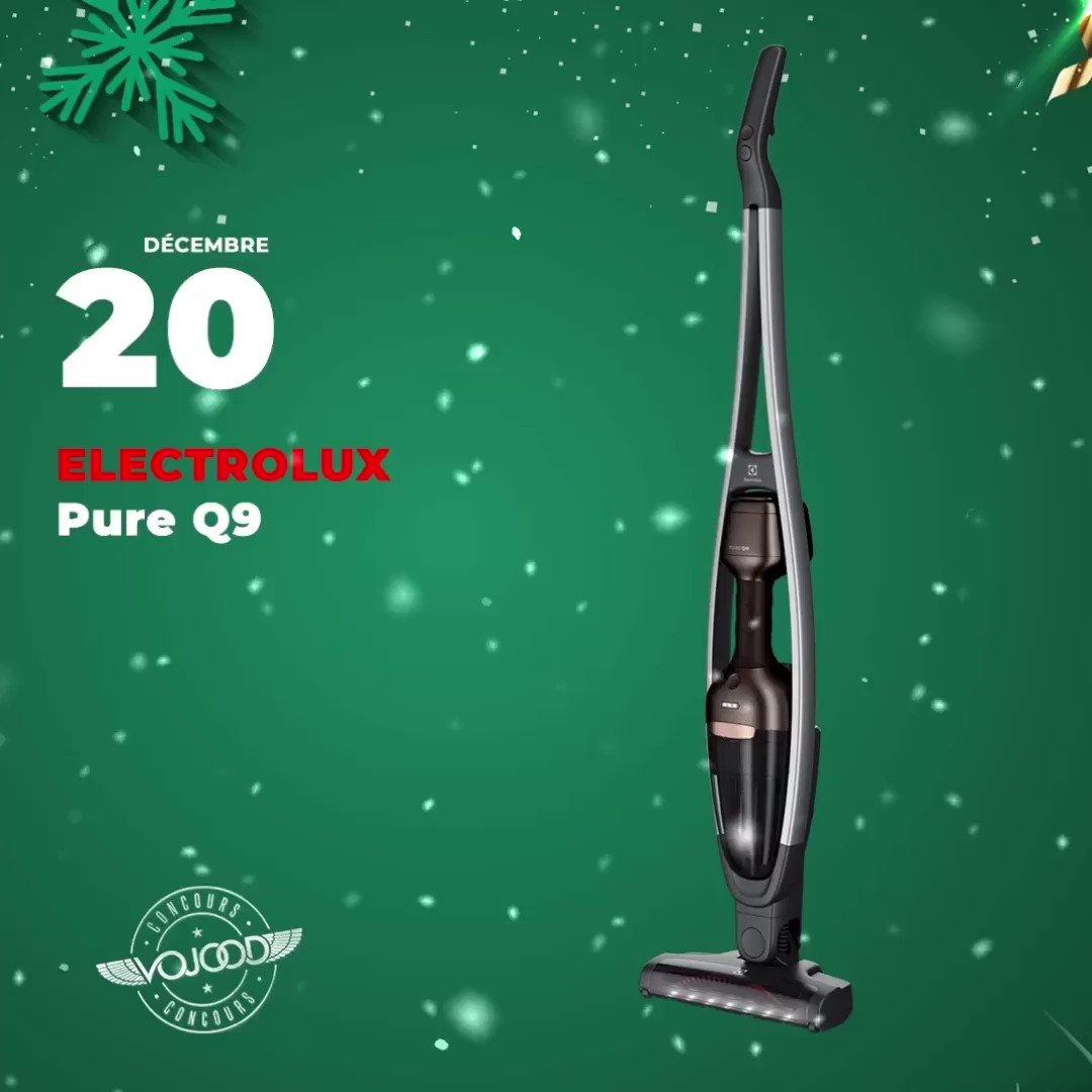 🎅🏼 20 Décembre 🎁 Participe et GAGNE ton aspirateur @Electrolux Pure Q9 🎉  Rendez-vous sur http://www.vojoodmedia.com  #calendrierdelavent #adventcalendar #raffle #concours #calendrierdelavent2019 #adventcalendar2019 #giveaway #lausanne #vaud #suisse #electrolux #pureQ9