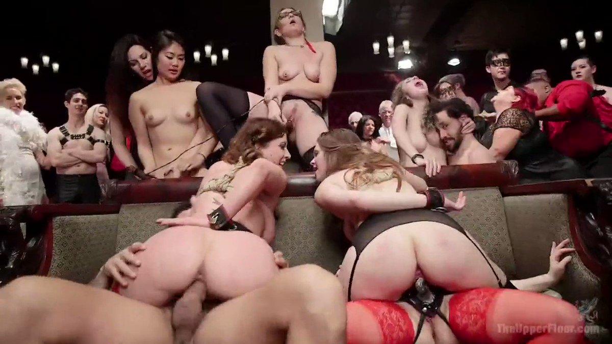 Audience participation orgy