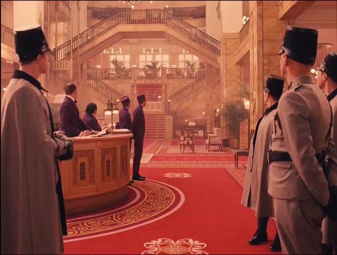 Happy birthday Ralph Fiennes ~ The Grand Budapest Hotel (2014)