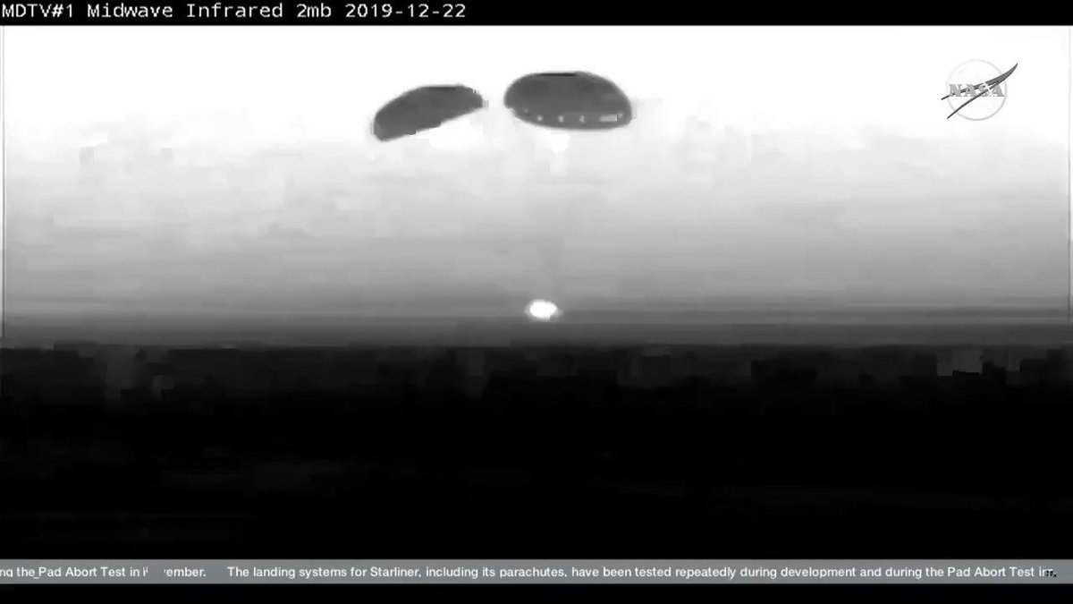 #Starliner successfully and safely landed at 6:58 CT at White Sands, N.M. https://t.co/MEFo1ysFPA