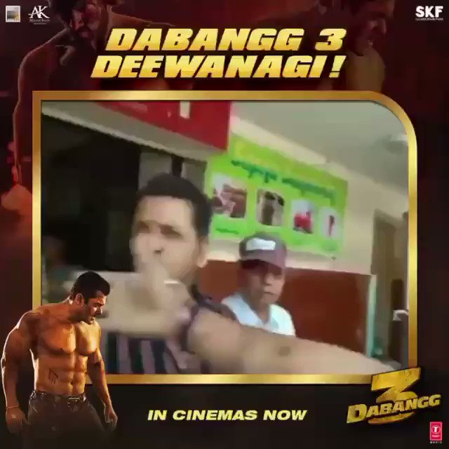 The public has given its verdict. 'Dabangg 3' is a through and through entertainer! #WeekendWithDabangg3