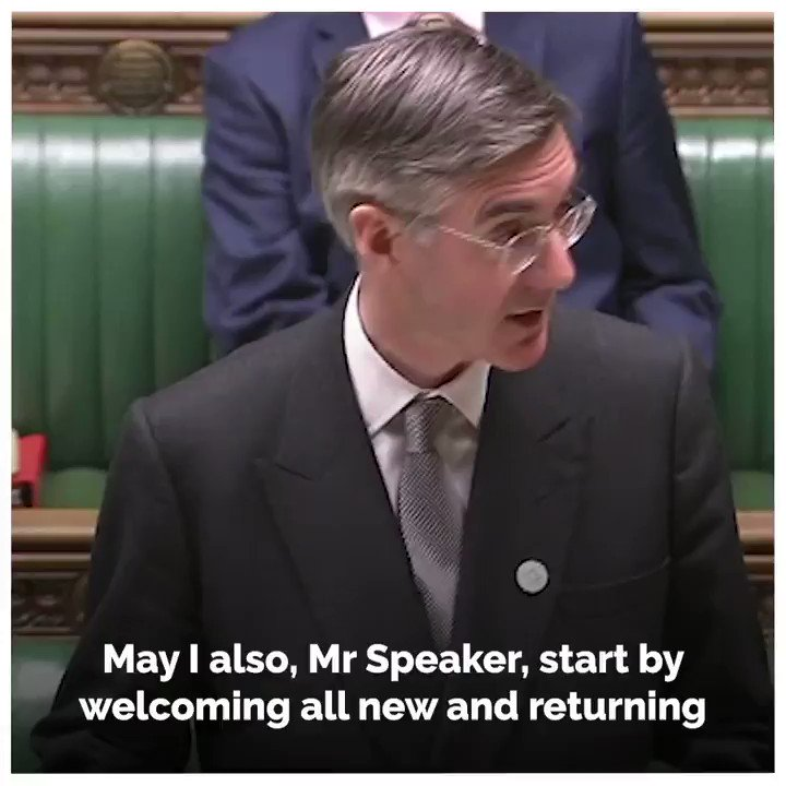 💬 The Leader of the House gave thanks to all those working in the Houses of Parliament and wished them a happy and restful Christmas. In the New Year, this government will get on with delivering the peoples priorities with its ambitious legislative agenda. @Jacob_Rees_Mogg