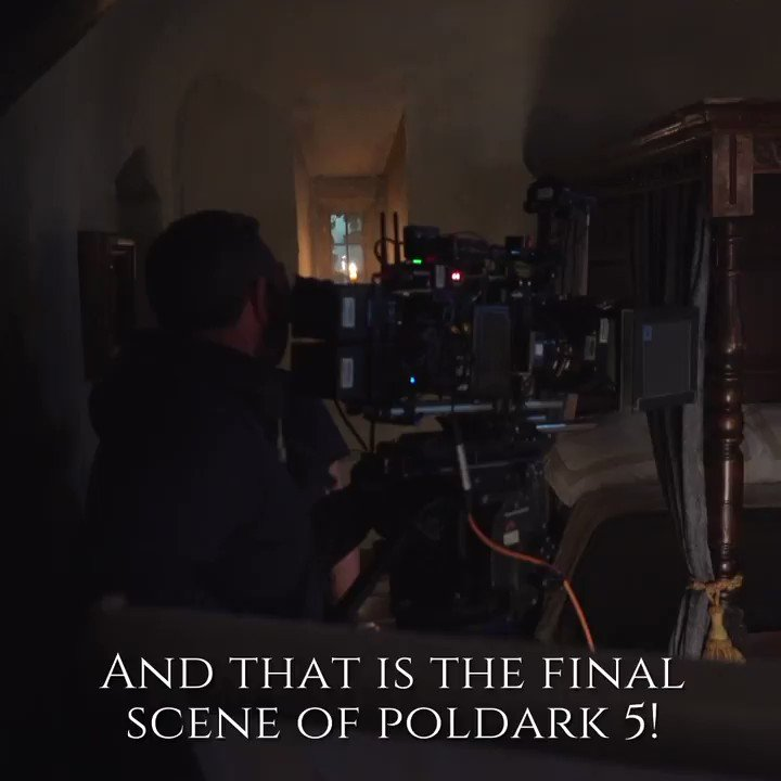 Todays the last post from us. With a heavy heart, we bid you farewell and gift you one last video. Its goodbye from us and goodbye from #Poldark. Have a very #MerryChristmas, this year and every year. Oh, and if you didnt get the DVD today, buy it here: amzn.to/2tsMjCb