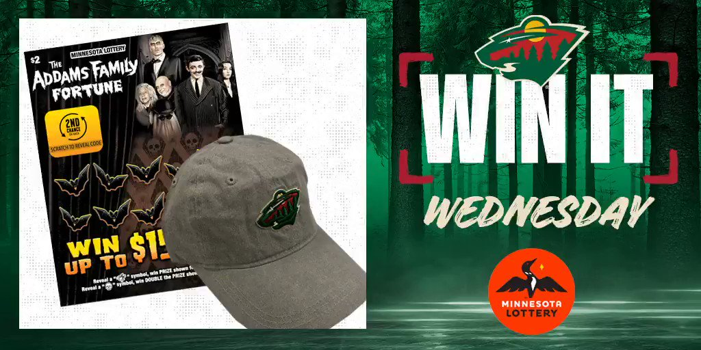 🎉 Say I'MN to #WinItWednesday. 🎉  RT for a chance to win a #mnwild cap, $50 in @mnlottery scratch 🎟 and more!  Rules:
