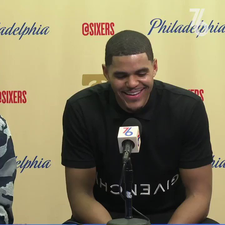 There's an impact on what it means to play Christmas Day.  🗣 @tobias31   #PhilaUnite