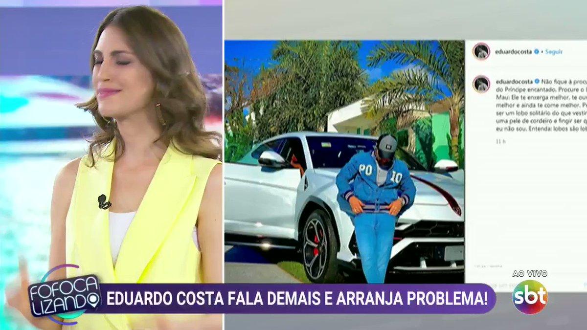 Polêmica envolvendo Eduardo Costa 👀#FofocalizandoNoSBT