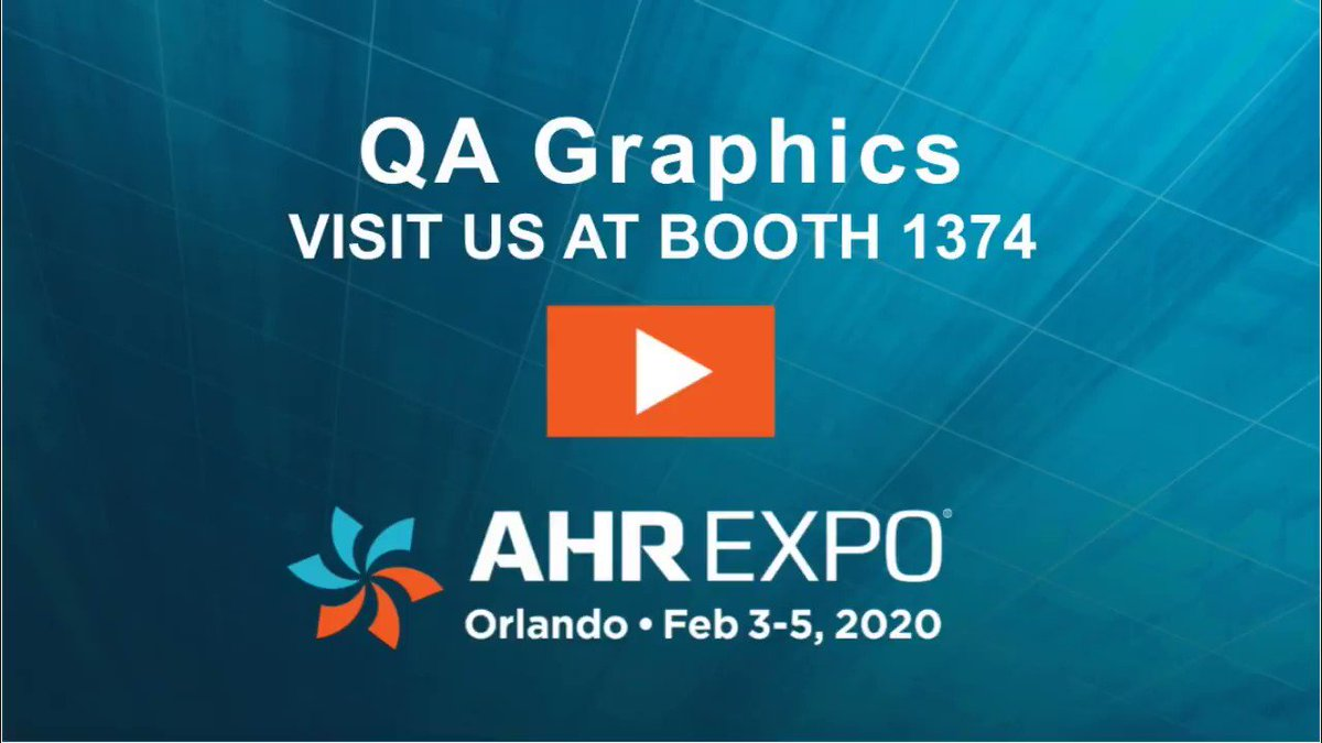 We will see you at the @ahrexpo from February 3-5 in #Orlando? Stop by booth #1374 to learn about our #BAS #symbollibraries, #floorplan work, #3Dservices and more! #AHRexpo #HVACR #HVAC