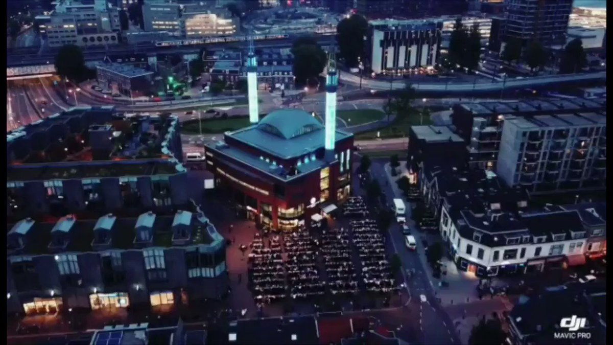 Hollanda'nın en büyük camii olan Diyanet Vakfı Utrecht Ulu Camii'ndeydik. Başta, başkan Yücel Aydemir bey ve ekibi olmak üzere, İmam Hatîbi Süleyman Coşkun hocama ve emeği geçen herkese teşekkür ediyorum.
