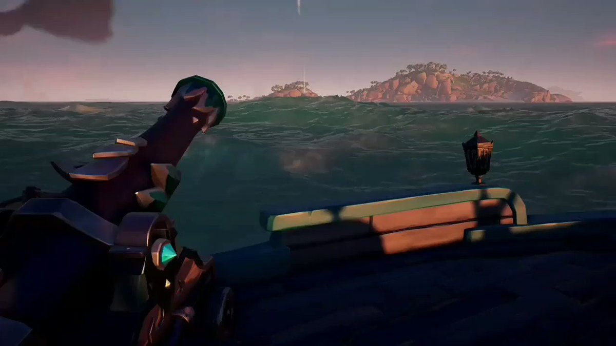 You ever just want to send one back at them? #SeaOfThieves #BeMorePirate @SeaOfThieves