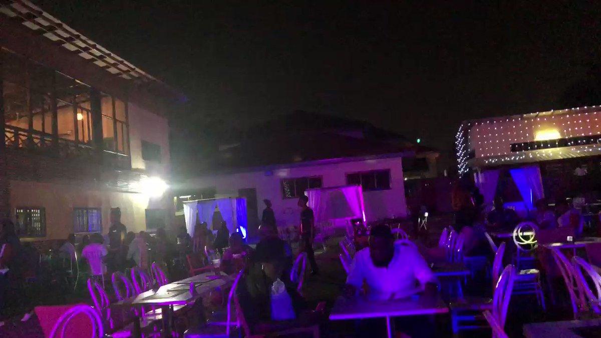 The vibe tonight in Accra #YearOfReturn