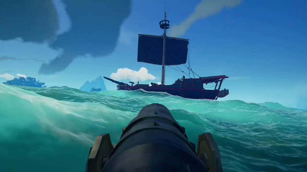 Anyone who follows me by now knows I like to harpoon people off their boats, this is by far my favourite one #SeaOfThieves #BeMorePirate @SeaOfThieves @Pithen_