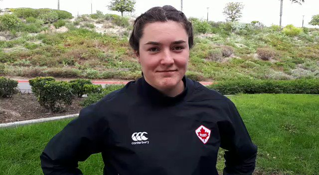 🔊 Co-Captain Lizzie Gibson talks Canada's prep ahead of their match against @<a target=