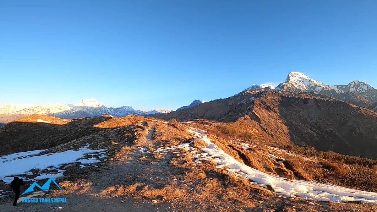 Amazing view point, Muldai Viewpoint in Annapurna Region. Short Trek in Nepal with Rugged Trails Nepalhttps://www.ruggedtrailsnepal.com/short-muldai-viewpoint-trek.html…#Nepal #Kathmandu #happynewyear #bestintravel2020 #mountains #shorttreksnepal #ruggedtrailsnepal #muldaiviewpointtrek #Travel #himalayas