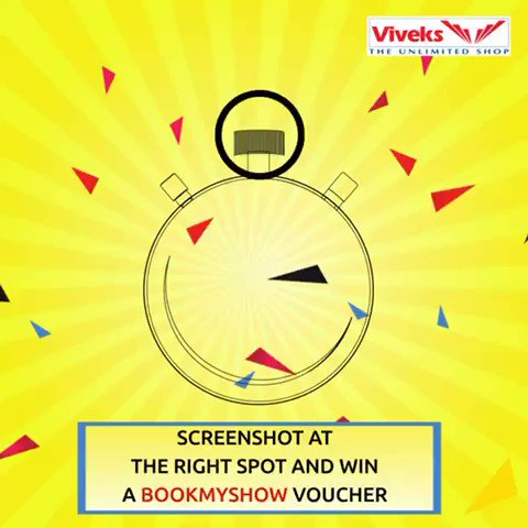 There's an exciting game going on the Viveks page. Play and win a bookmyshow voucher worth Rs.500. Claim the voucher on a purchase of Rs.5,000. It was fun playing the game. You should try it too. Check it out now! T&C Apply.#nammaviveks #viveksrushhoursale #viveksbetheinfluencerpic.twitter.com/GsIri0davn