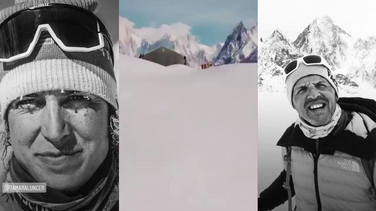 🎊🎉 ¡FELIZ AÑO NUEVO‼️ 🍾🥂.  Sí que hay mucha nieve en el #Baltoro... ⛏ Tamara Lunger y Simone Moro, hoy intentan llegar por fin al Campo Base de los #Gasgerbrum. . 🎥 Simone Moro instagram stories, (@iamsimonemoro) http://instagram.com/stories/highlights/18120595063055325/…