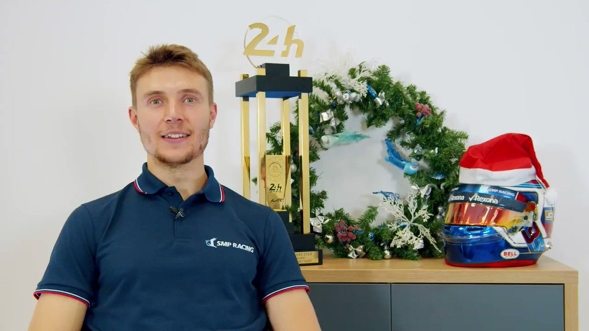 С наступающим Новым годом! ❄ / Happy New Year! ❄  #HappyNewYear #S35 #TeamSirotkin #SMPRacing #Racing #Motorsport