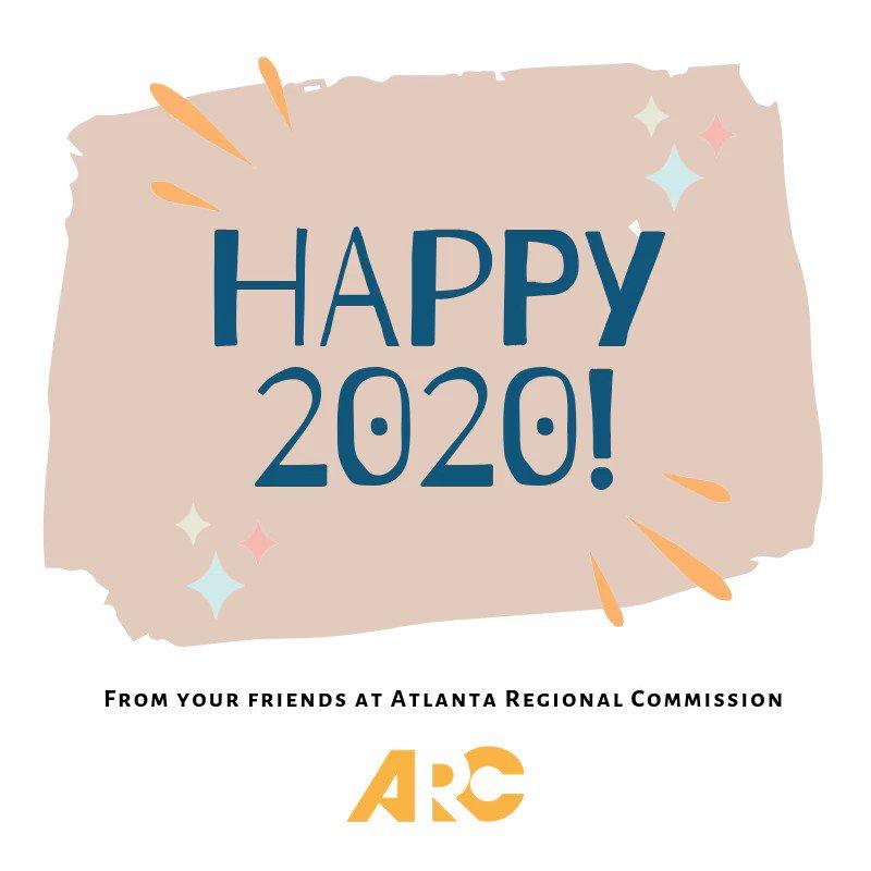 ARC (@AtlantaRegional) on Twitter photo 01/01/2020 14:00:01