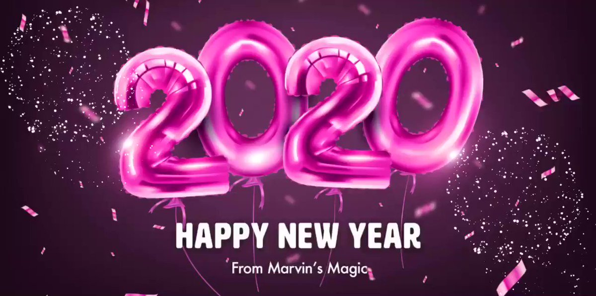 Image for the Tweet beginning: Happy New Year from all