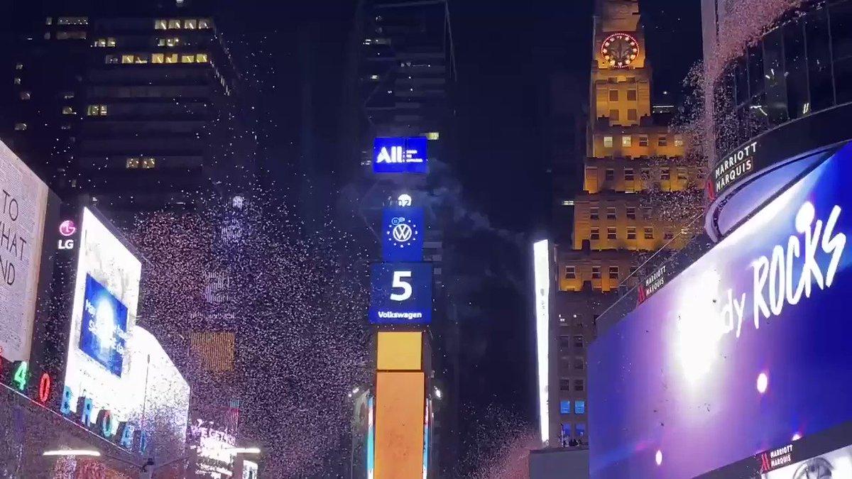 Happy New Year 2020! #TimesSquare #newdecade #NYE2020