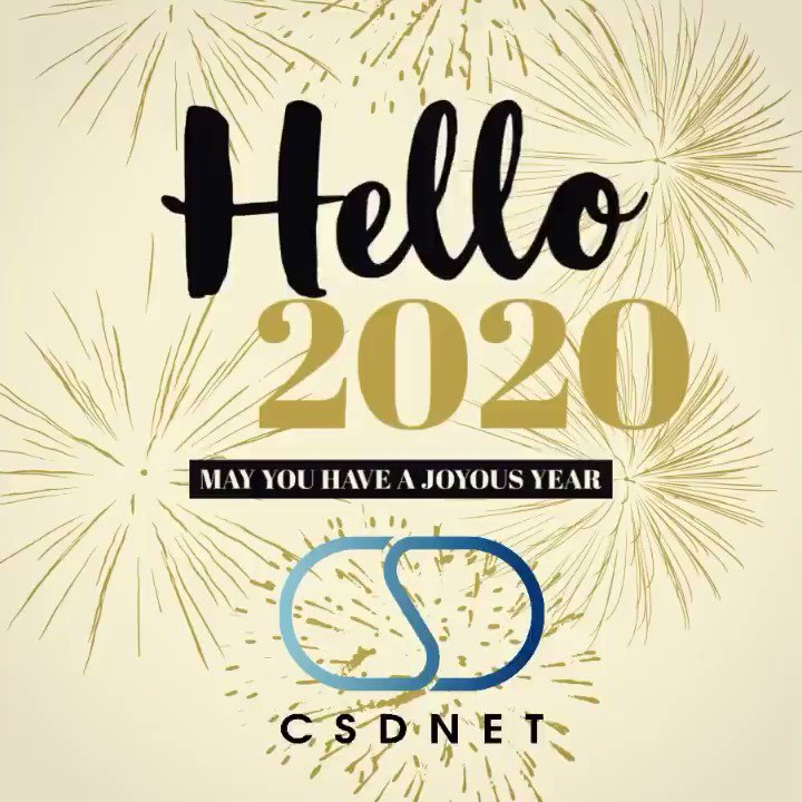 Image for the Tweet beginning: CSDNET would like to wish