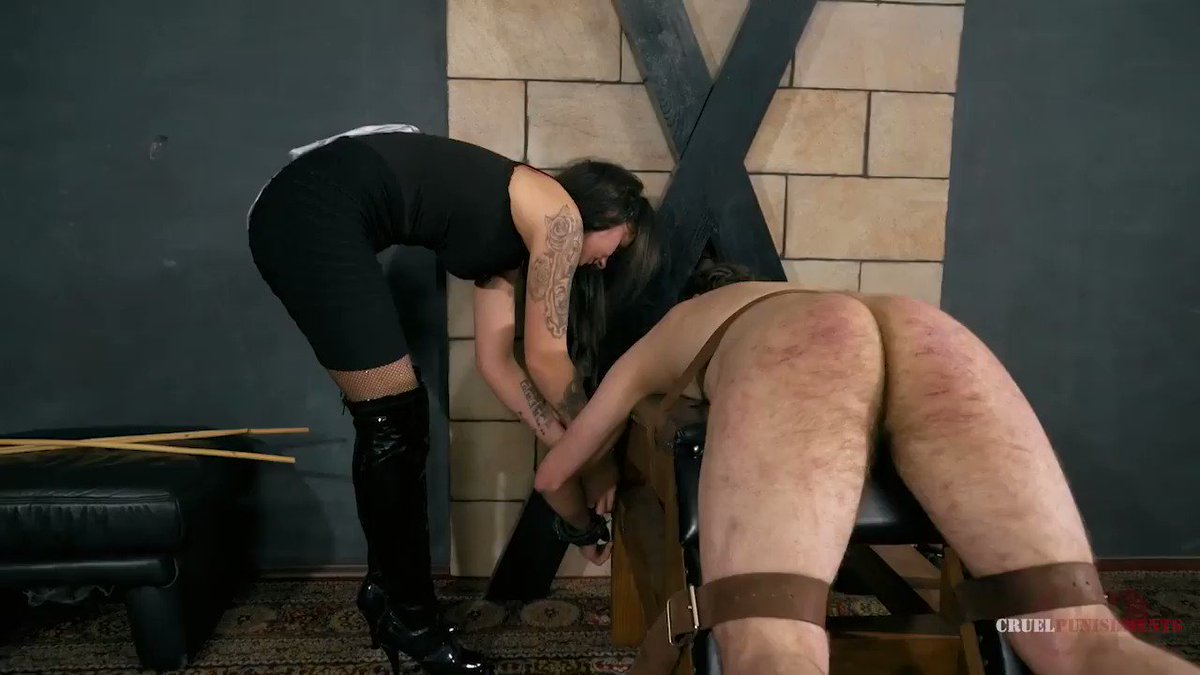 Spanking lady cruellas games teacher in trouble cruel punishment