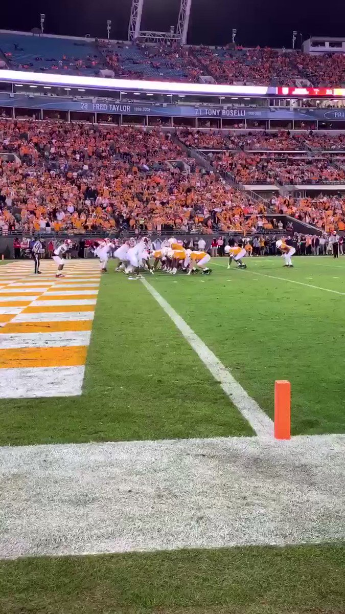 Image for the Tweet beginning: Tennessee with a Touchdown!!! @Vol_Football