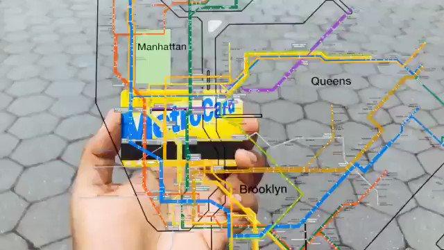 #AR powered #MetroCard a new way to navigate the #NewYork subway system in 2020 >>> @catchar_io via @MikeQuindazzi >>> #CloudComputing #Wearables #VR #makeyourownlane #MR #IoT cc @alvinfoo @SpirosMargaris @HaroldSinnott @FrRonconi @Ronald_vanLoon @andi_staub @ipfconline1 https://t.co/R8t9te8M55