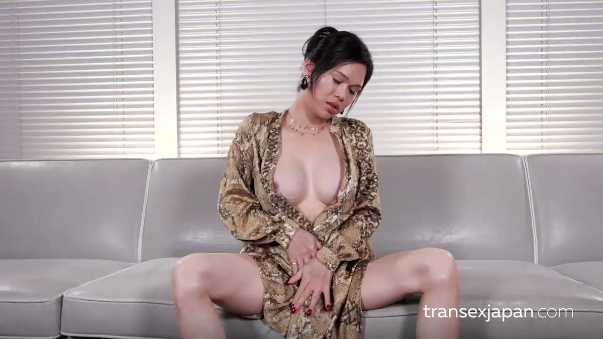 "TranSexJapan.com on Twitter: ""Mimi intense cumshot cock ..."