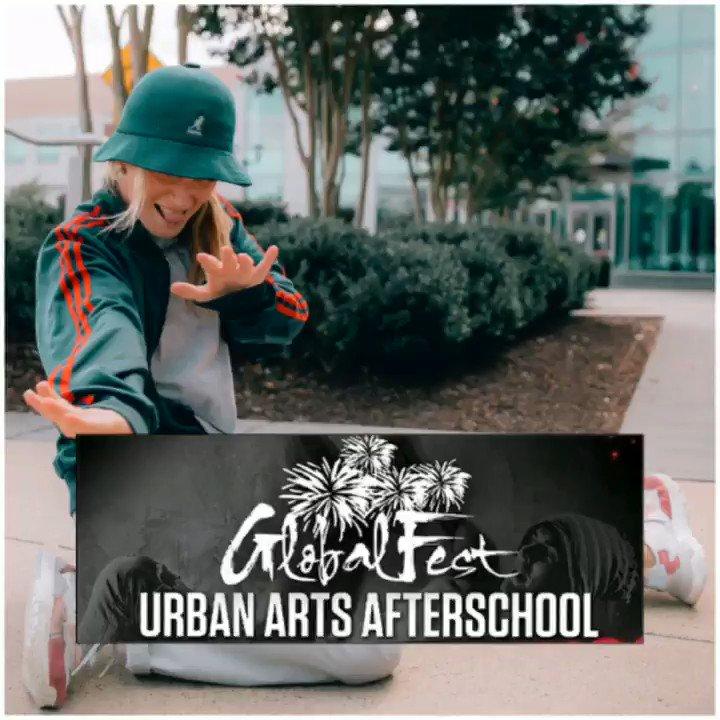 Image for the Tweet beginning: GlobalFest's Urban Arts Afterschool Winter