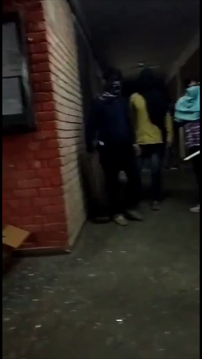 JNU Inder attack by alleged ABVP terrorists ! Despite @DelhiPolice presence on campus!!!! Stop this terror and rampage ! Watch this video received from a student! WHAT IS DELHI POLICE DOING????? Is this a govt. sanctioned attack?????