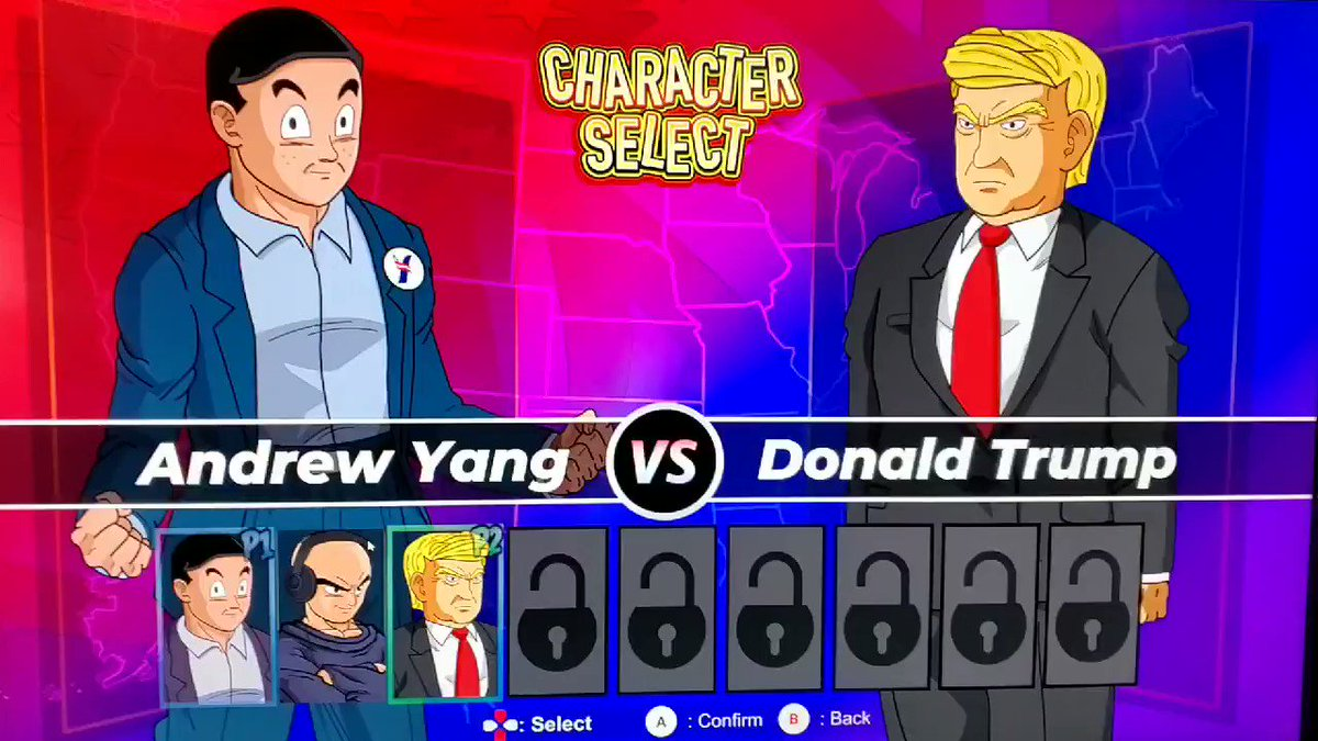 Joe Rogan vs Donald Trump Trump ended up winning Download the game here store.steampowered.com/app/1204720/Ya…