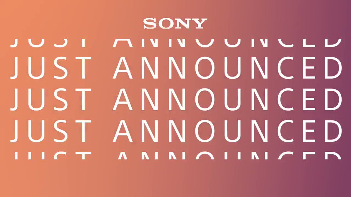 📣 JUST ANNOUNCED: Introducing a new decade of innovation with the Sony's new X950H, A8H, and Z8H TVs. Learn more about these products and all things #SonyCES 👉http://bit.ly/SonyCES20 !