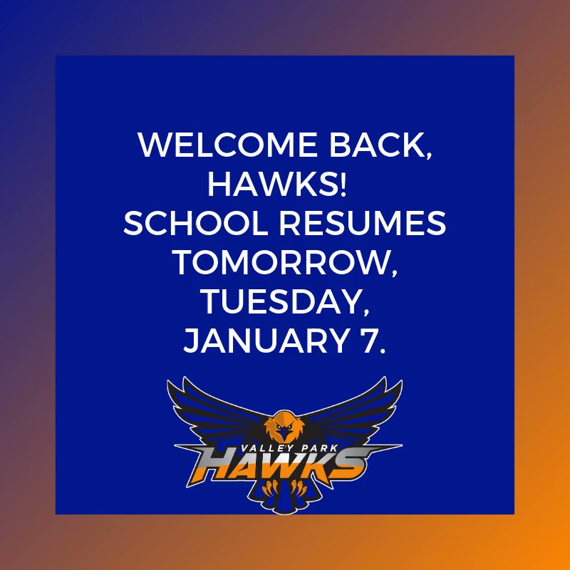 We can't wait to see all our Hawks back on campus tomorrow! #Vppride