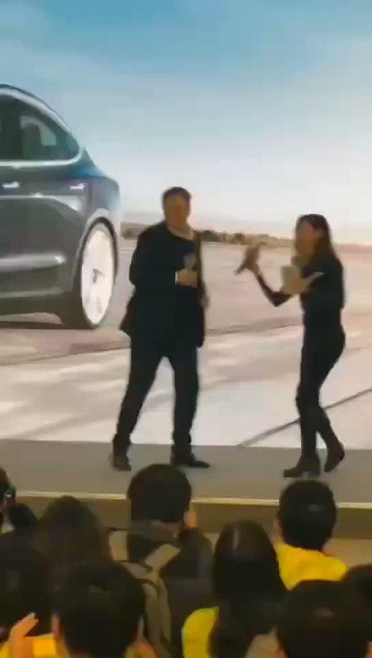 At Tesla Giga Shanghai NSFW!!