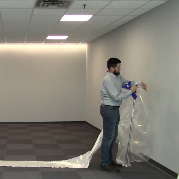 Image for the Tweet beginning: Two ZipWall® products perfect for