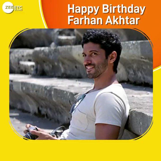 Wishing the multi talented Farhan Akhtar a very Happy Birthday.